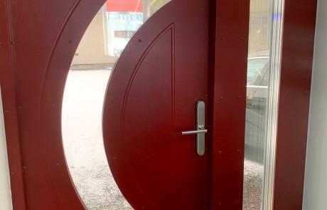 3. Lauko durys, durys, plastikiniai langai, plastikines durys, lauko durys