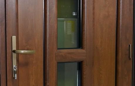 1. Plastikines durys, Lange, lauko durys, sarvuotos lauko durys2