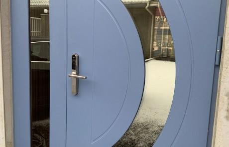 2. Lauko durys, durys, plastikiniai langai, plastikines durys, lauko durys